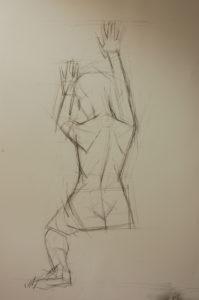 human figure drawing, figure drawing, life drawing