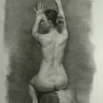 Life human figure drawing