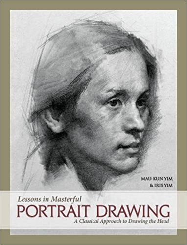 Lessons in masterful portrait drawing cover