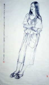 portrait drawing, portrait schedule, line drawing, life drawing