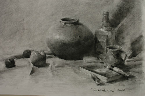 Still Life Drawing  (Charcoal) – A Step-by-Step Guide