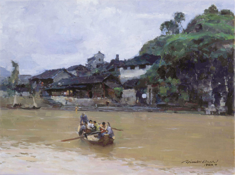 Lessons from Chadong Ferry Dock – how to paint plein air landscape and imbue it with poetry and stories
