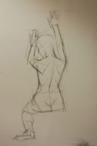human figure drawing, figure drawing, life drawing
