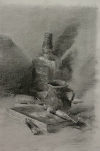 Still life drawing - creating details