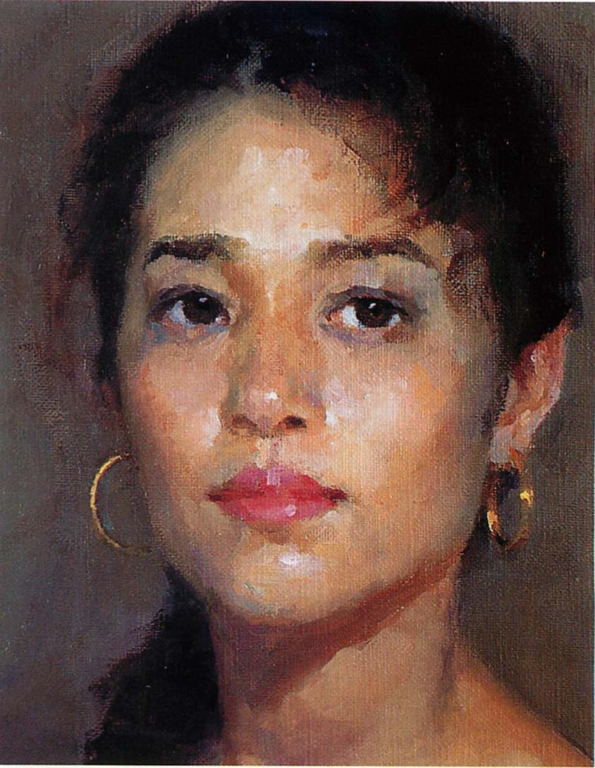 oil portrait, portrait painting, how to paint oil portrait, classical oil portrait