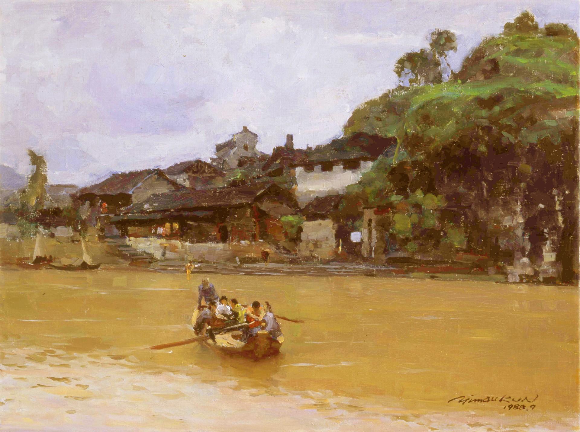 A Painting Trip of Xiangxi (Western Hunan) China